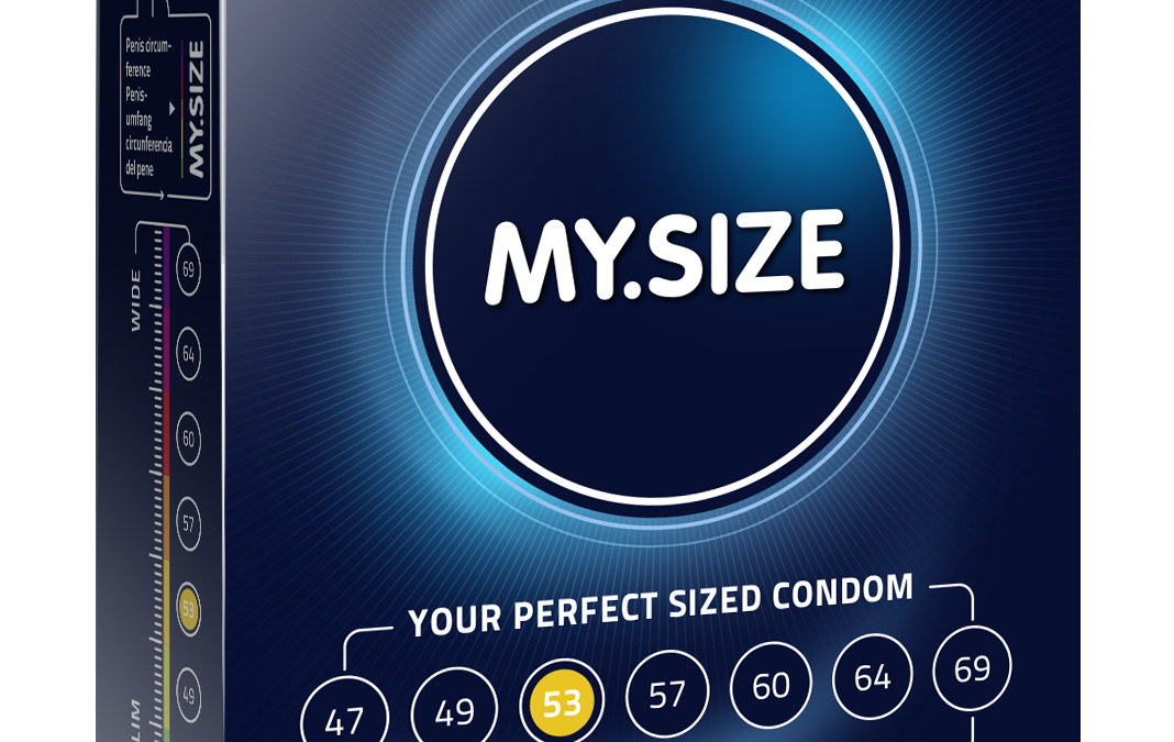 My.Size 53mm Condoms x3