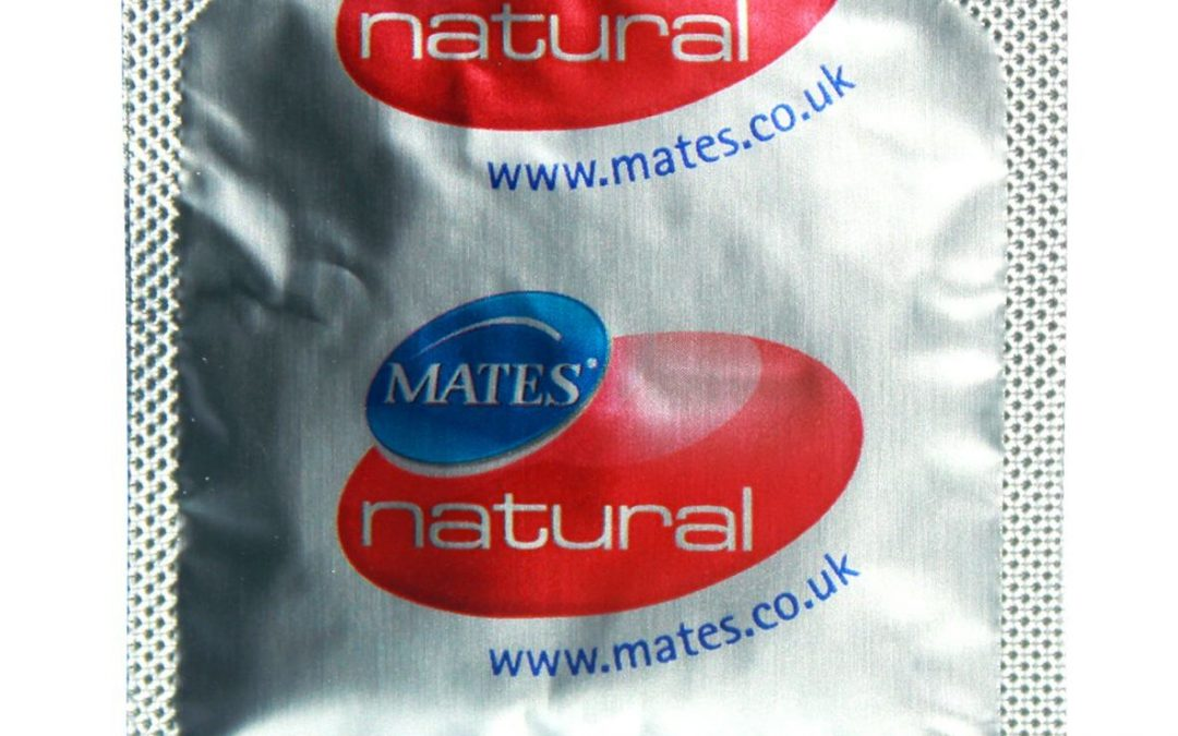 Mates Natural Condoms None Spermicidal x12