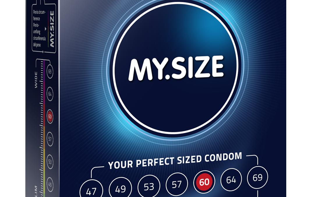 My.Size 60mm Condoms x3