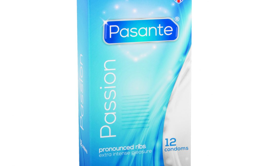 Pasante Ribbed – Passion Condoms x12