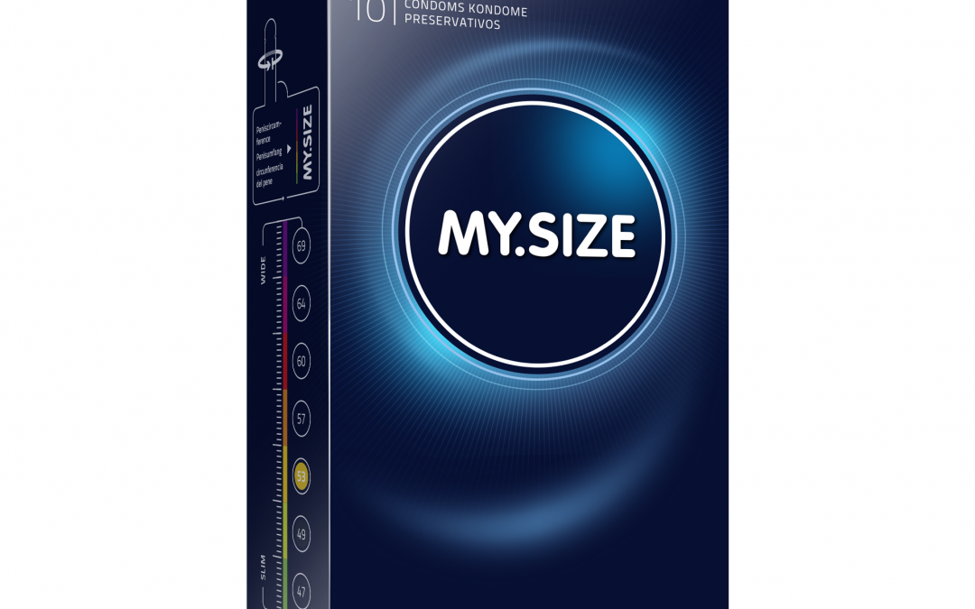 My.Size 53mm Condoms x10