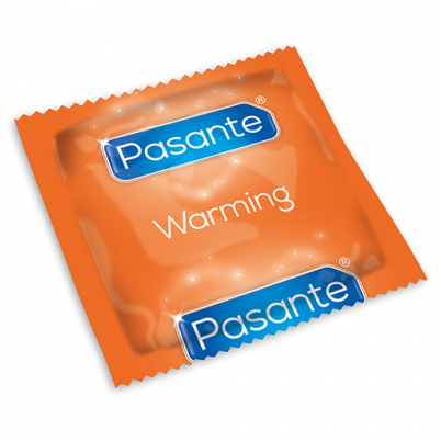 Pasante Warming Sensation Condoms x12
